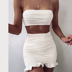 😍Two piece ruffles set💦🛍